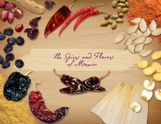 The Spices And Flavors Of Mexico