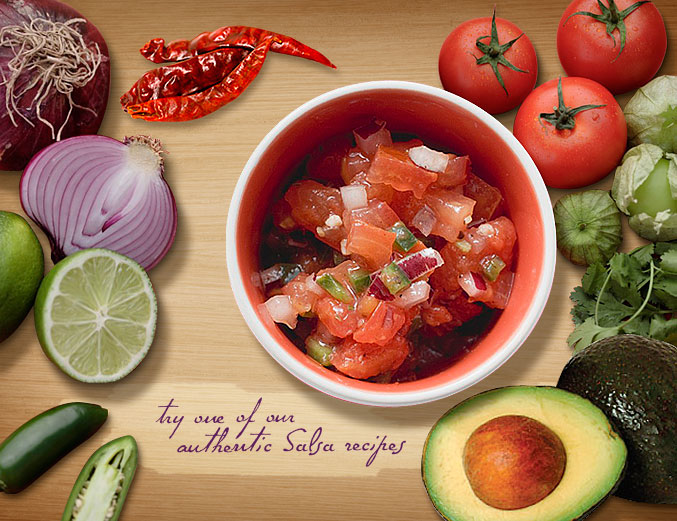Try One Of Our Authentic Salsa Recipes